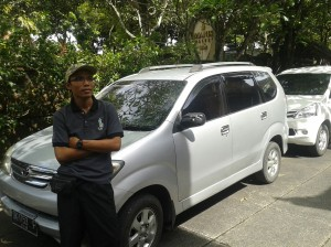 Ubud Transport driver